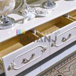 استفاده از رنگ پلی اورتان سفید براق برای آشپزخانه
